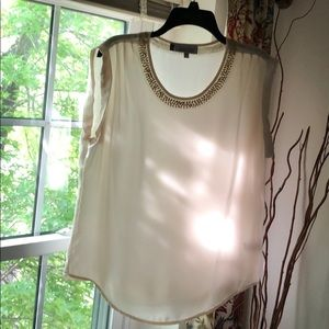 Jennifer Lopez ivory blouse